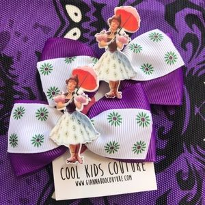 Haunted Mansion Inspired Ponytail Bow Clip  Set